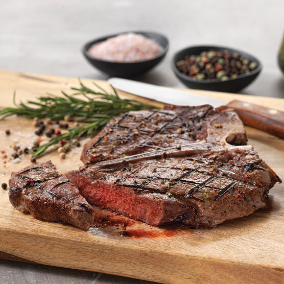 2(16 oz) Porterhouse Premium Steaks