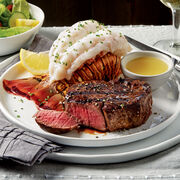 Pfaelzer's filet mignon steaks paired with sweet, succulent lobster tails