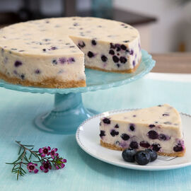 Indulgent Blueberry Cheesecake